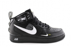Nike Air Force 1 Mid '07 LV8 Utility Black/White