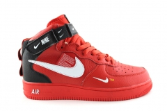 Nike Air Force 1 Mid '07 LV8 Utility Red (c мехом)