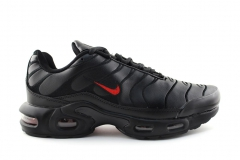 Nike Air Max Plus TN Black/Red Leather