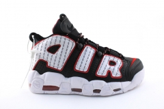 Nike Air More Uptempo Black/White/Red