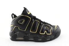 "Nike Air More Uptempo ""France"" Black/Gold"