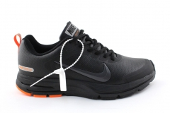 Nike Zoom Structure 17 Shield Black/Orange Leather