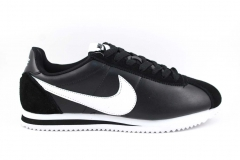 Nike Cortez leather/Suede Black/White