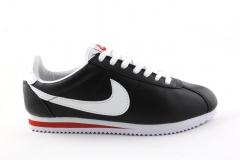 Nike Cortez Black/White/Red Leather