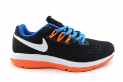 Nike Zoom Pegasus V4 Black/Blue/Orange