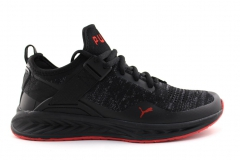 Puma Ignite evoKNIT Lo Black/Red