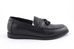 Лоферы Rasht Loafers Black Leather/Og
