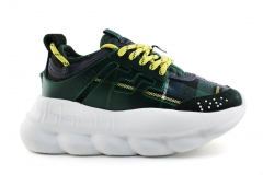 Versace Chain Reaction Green/White