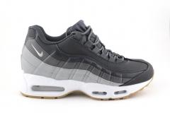 Nike Air Max 95 Grey/White (с мехом)