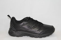 Columbia Waterproof Black Leather