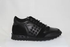 Valentino Garavani Rockrunner Leather Black