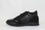 Valentino Garavani Rockrunner Leather Black