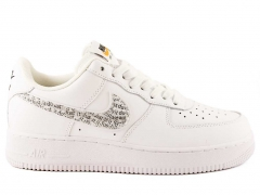 "Nike Air Force 1 Low ""Just Do It"" White/Black"