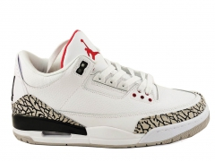Air Jordan Retro 3 White Cement