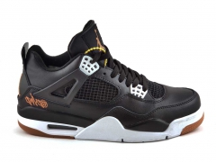 Air Jordan Retro 4 Black/White SE