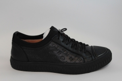 Louis Vuitton Low Sneaker Ebon/Black