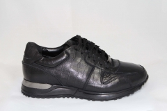 Louis Vuitton Run Away Sneaker All Black Leather