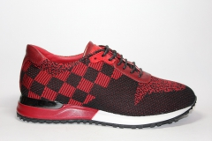Louis Vuitton Run Away Sneaker Red