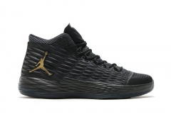 Air Jordan Melo M13 Black/Gold