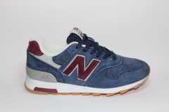 New Balance 1400 Navy/Red Suede