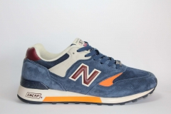 New Balance 577 Navy/Orange/Brown