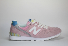 New Balance 996 Suede Coral Pink/Blue/Grey