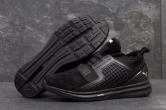 Puma Ignite Limitless Black Suede
