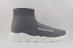 Balenciaga Speed Stretch-knit Mid Sneakers Grey