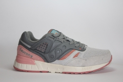 Saucony GRID SD Grey/Coral Pink