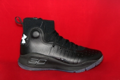 Under Armour Curry 4 Black Ice Leather