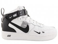 Nike Air Force 1 Mid '07 LV8 Utility White (с мехом)