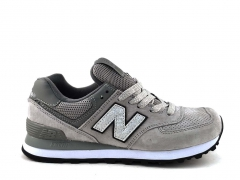 New Balance 574 Suede Grey/Silver