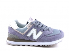New Balance 574 Purple/White N19