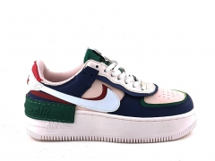 Nike Air Force 1 Low Shadow Blue/Pink