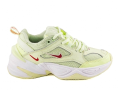 Nike M2K Tekno Barely Volt/White/Red Orbit