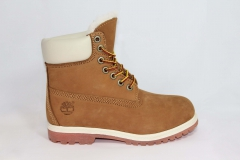 Timberland 6-inch Wheat/White (натур. мех)