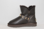 UGG Mini Dylyn Brown Leather