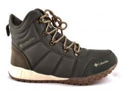 Ботинки Columbia Fairbanks C19 Olive (с мехом)