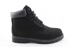 Timberland 6-inch Dark Grey (натур. мех)