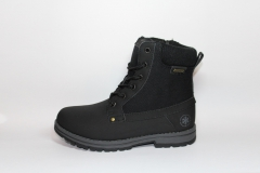 Baas Boots WaterProof Black (натур. мех)