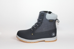 Baas Boots WaterProof Navy (натур. мех)