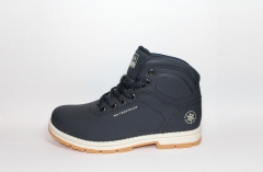 Baas Boots WaterProof Dark Blue (натур. мех)