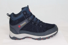 Timberland Waterproof Navy (натур. мех)