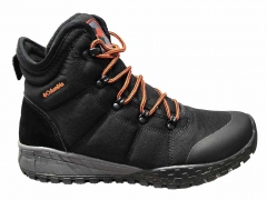 Columbia Thermo Waterproof High Black Orange