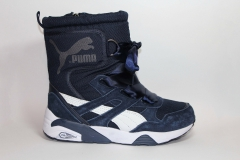 Дутики Puma Trinomic Bow Navy (натур. мех)