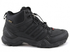 Adidas Terrex SwiftR Mid Black A19 (натур. мех)