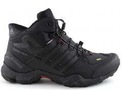 Adidas Terrex 456 Mid Black (натур. мех)