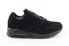Nike Air Max 90 VT Black (с мехом)