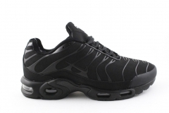 Nike Air Max Plus TN Black (с мехом)