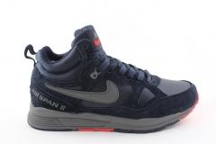 Nike Air Span II Navy (с мехом)